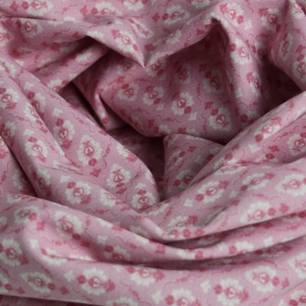 Baumwollpopeline rosa