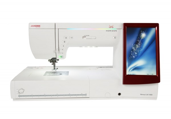 Janome Näh-/Stickmaschine Horizon Memory Craft 14000