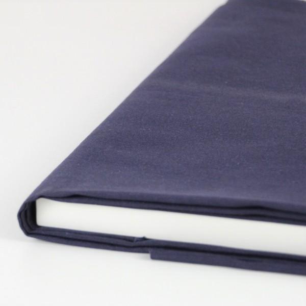 Baumwolle Uni dunkelblau