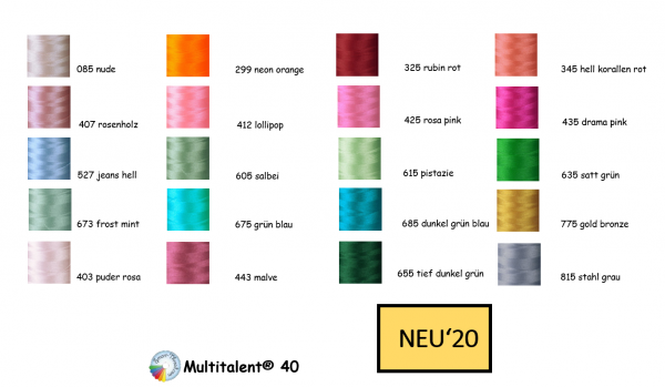 Smart-Thread Neue-Farben Set