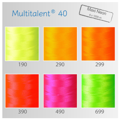 Smart-Thread Maxi-Neon-Set