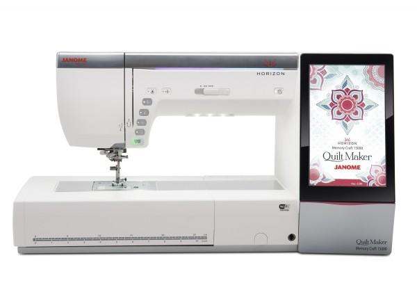 Janome Nähmaschine Horizon Quilt Maker Memory Craft 15000
