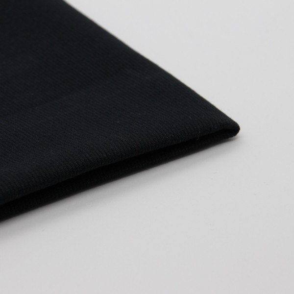 Baumwolle Pique schwarz