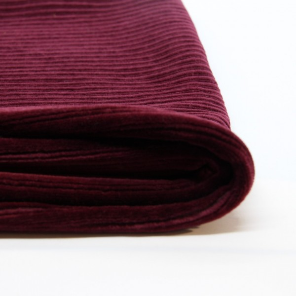 Stretch-Cord grob bordeaux