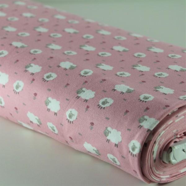 Jersey Schafe rosa