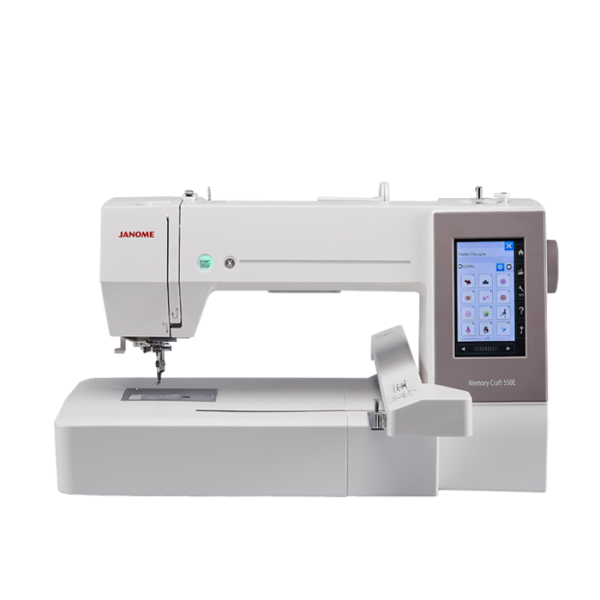 Janome Näh-/Stickmaschine Memory Craft 550E