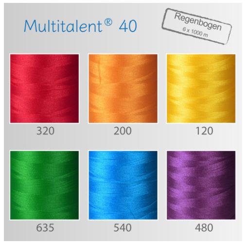 Smart-Thread Regenbogen-Set