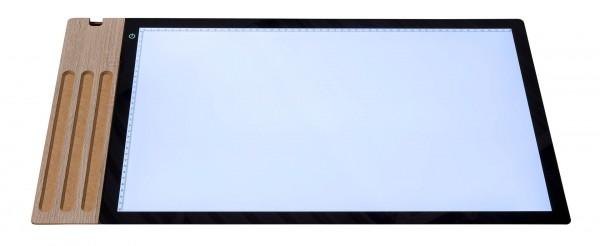 LED Lightpad mit Stiftablage