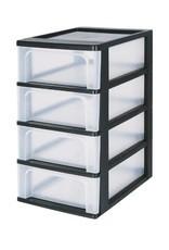 Organizer Box mit 4 Schubkästen
