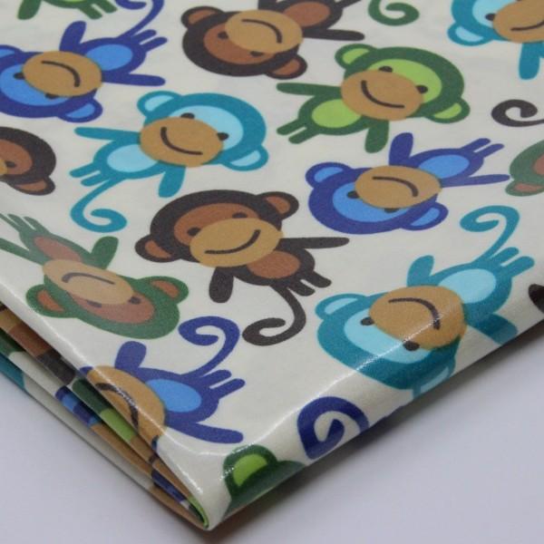 Baumwolle laminiert Affen