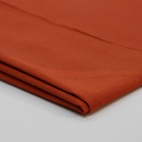 Baumwolle Uni orange
