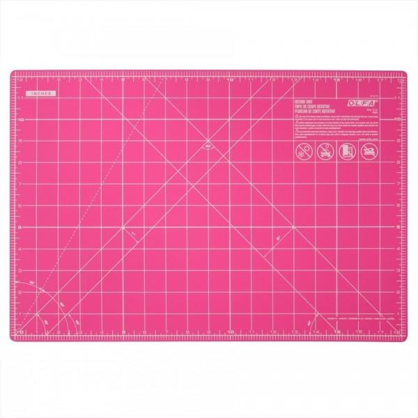 OLFA Rollschneidematte 45x30cm pink