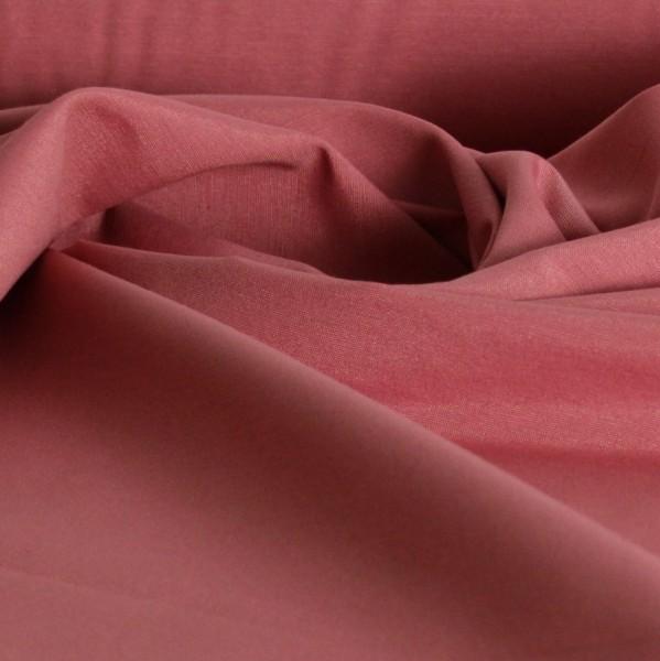 Baumwolle Uni rose