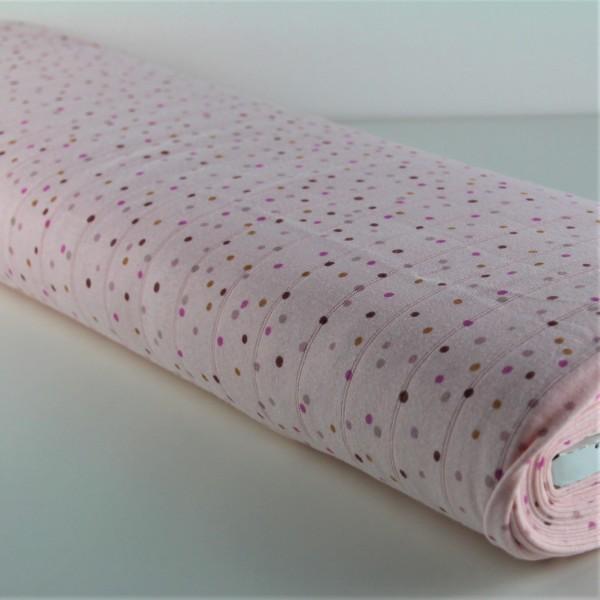 Jersey Hydrofile Dots rosa
