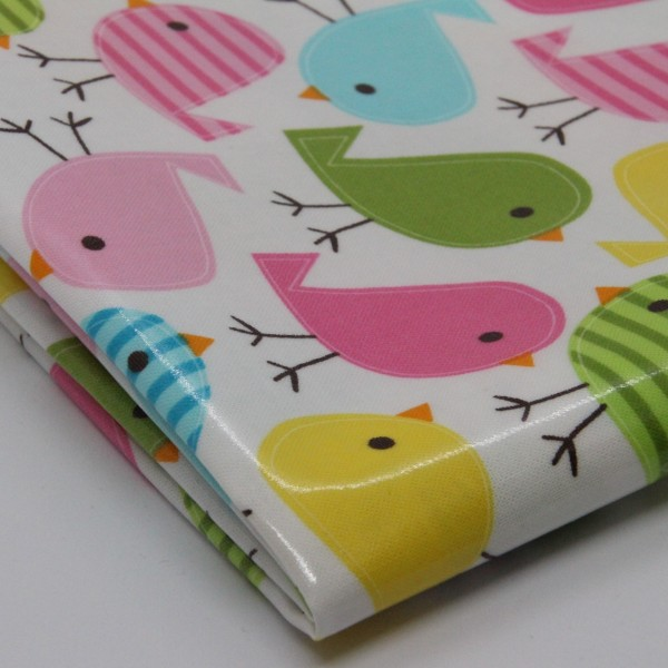 Baumwolle laminiert Vögel