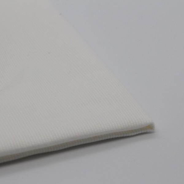 Baumwolle Pique weiß